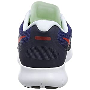 Nike Free RN 2017, Zapatillas de Running para Hombre, Multicolor (Obsidian/University Red-Racer Blue-Photo Blue 406), 40 EU
