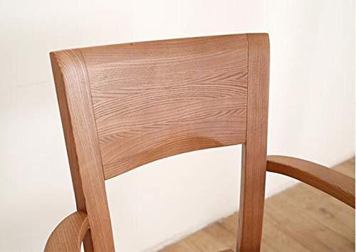 Sedie In Legno Con Braccioli : Nwn sedia da pranzo sedia in legno massello con braccioli sedia da