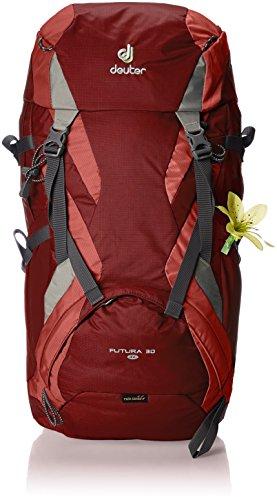 Deuter Futura SL Mochila de Montaña, Mujer, Rojo (Cranberry/Coral), 30 l