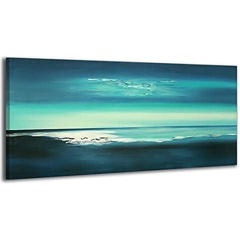 100% LABOR A MANO + certificado/ Brillo/ El cuadro dibujado con pinturas acrílicas/ cuadros sobre el lienzo con bastidor de madera/ cuadro dibujado a mano/ montaje cómodo sobre la pared / Arte contemporáneo/ 115x50 cm