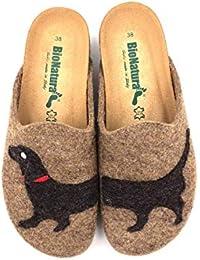 Amazon.it  ciabatte - Bionatura   Pantofole   Scarpe da donna ... 70aadf97ff9
