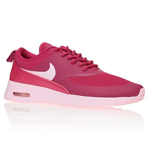NIKE Baskets Wmns Air Max Thea Chaussures Femme 38) Rouge