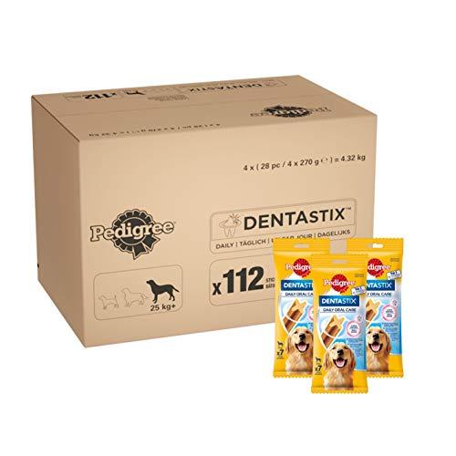 Pedigree DentaStix, Cani Snack per Cani di Grossa Taglia, Diverse varietà