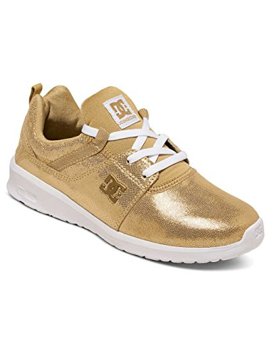 DC Shoes - Heathrow Se J, Sneaker Donna Oro