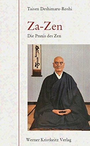 Buchseite und Rezensionen zu 'Za-Zen: Die Praxis des Zen' von Taisen Deshimaru