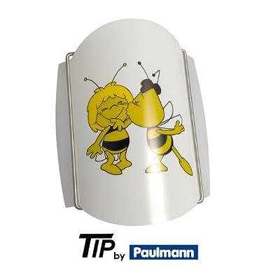 Paulmann Kinderleuchte Biene Maja 1x50W, 230V, Kinderzimmer Wandlampe Nachtlicht von Paulmann bei Lampenhans.de