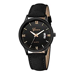 Mens watches sale clearance men 39 s watches luxury military men 39 s date stainless steel leather for Watches clearance