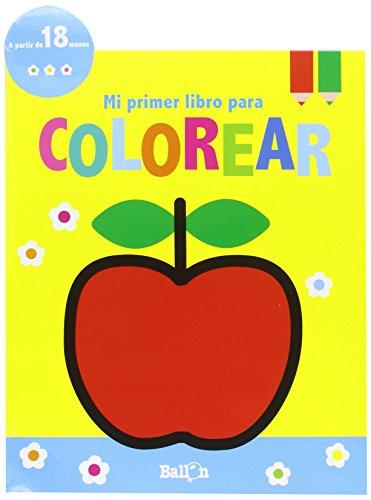 Manzana. Mi Primer Libro Para Colorear