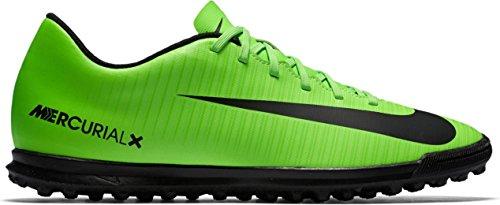 Nike Mercurialx Vortex Iii Tf, Chaussures de Football Homme Vert