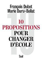 10 propositions pour changer d'école