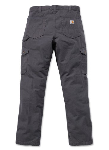 Carhartt Herren Relaxed Fit Washed Twill Dungaree Pant Gravel