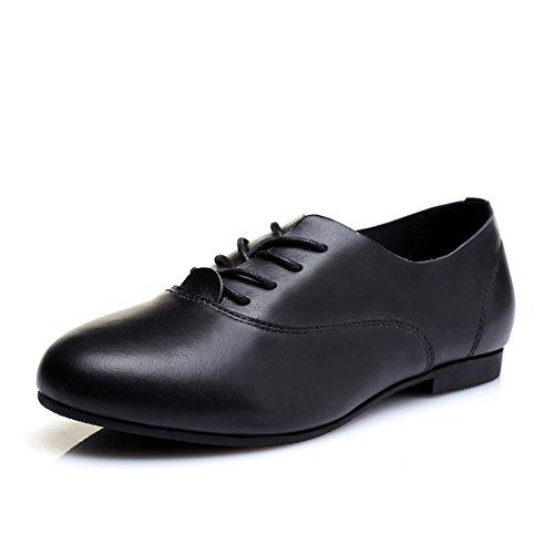 Petites chaussures blanches/Version coréenne des appartements/ Chaussures de style British Academy/ faible chaussures féminines plates B