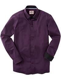 Joe Browns Men's Smart Purple Shirt