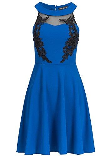 violet Fashion -  Vestito  - Sera  - Donna Blau
