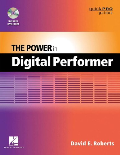 Hal Leonard The Power In Digital Performer Book/DVD-ROM