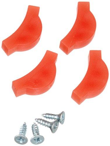 KNIPEX 81 19 230 2 Paar Kunststoffbacken für 81 13 230 für Kunststoffrohre und Connectoren