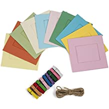 Polaroid - Cornici fotografiche Piazza vintage OneStep per carta zincata 2x3 (Snap, Zip, Z2300) - 3x3 Cornice