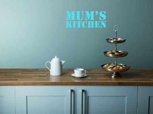 novelty-funny-joke-mum-s-kitchen-art-wand-aufkleber-graphic-vinyl-turkis