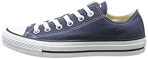 CONVERSE Chuck Taylor All Star Seasonal Ox, Unisex-Erwachsene Sneakers, Blau (Navy), 41.5 EU