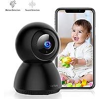Victure 1080P Caméra de Surveillance Moniteur Bébé avec Detection de Sonore,FHD Caméra Surveillance Wi-FI Intérieur sans Fil avec Vision Nocturne,Alerte de Detection de Mouvement,Audio bidirectionne