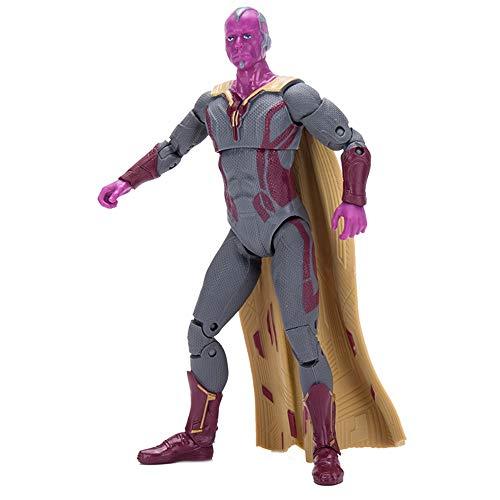 Avengers Series - Phantom Action Chart, 7 Zoll/Höhe 17.8 Cm, Gemeinsames Bewegliches Kinderspielzeugmodell -