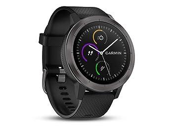 Garmin Vivoactive 3 GPS, Spor Uygulamaları ve Nabız Ölçerli Kol Saati, Gunmetal