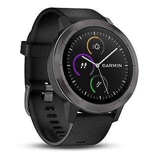 Garmin vívoactive 3 GPS-Fitness-Smartwatch - vorinstallierte Sport-Apps, kontaktloses Bezahlen mit Garmin Pay, Gunmetal (B0751HV9QT) | Amazon Products