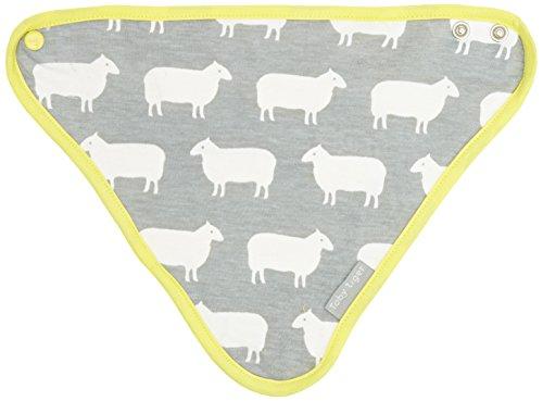 Toby Tiger Unisex ? Baby Schal Gr. One size, Grau - Grau (Stripe Bold Schal)