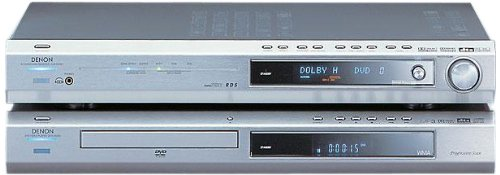 Denon ADV 550 AV-Receiver (AVR-550 SD) / DVD-Player (DVD-550 SD) Kombination Silber