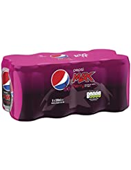 Pepsi Max Cherry Cans, 8 x 330 ml