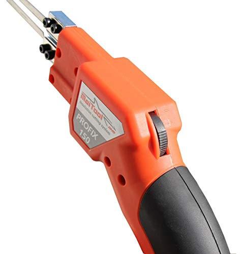 Cortador de porexpán Profix 150/200Styro Cutter cortadora de poliespán (Incluye zub-.