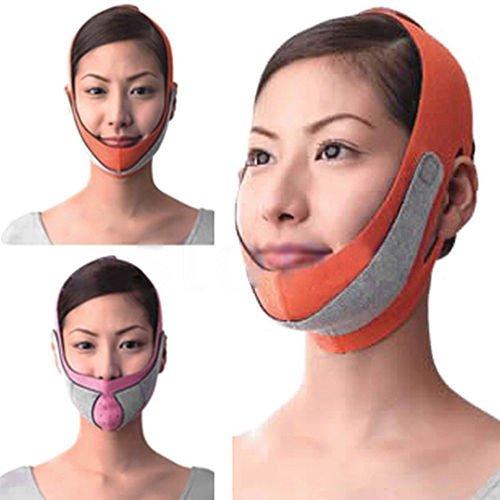 Anti-Falten-v Linie Gürtel Halbe Gesicht Wange Lift Abnehmen Kinnriemen Maske