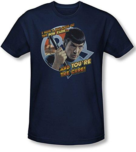 Star Trek - - Männer Pon Far-T-Shirt in Navy Navy