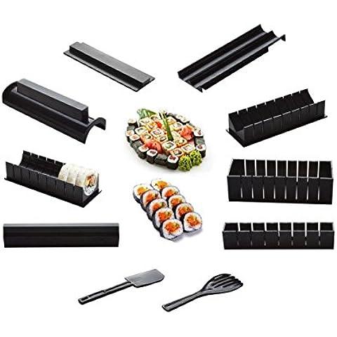 haoyishang Sushi Maker Kit Riso Rotolo Mold Cucina fai da