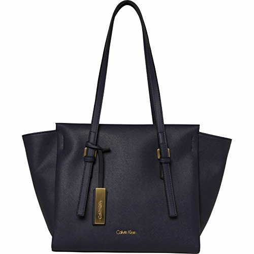 Calvin Klein Damen M4rissa Medium Tote, Blau (Ombre Blue), 25x13x41 cm (Bag Tote Handtasche Medium)