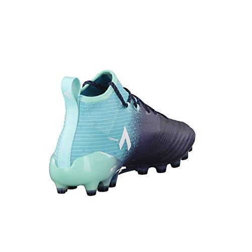 adidas Herren Ace 17.1 AG Fußballschuhe dunkelblau / türkis