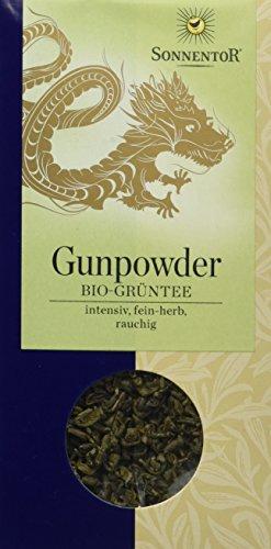 Sonnentor Chines. Grüntee Gunpowder lose, 1er Pack (1 x 100 g) - Bio (Grüner Tee)