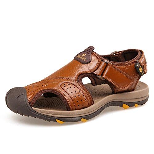 Summer Leather Baotou Sandalen/Sport Outdoor Beach Schuhe C
