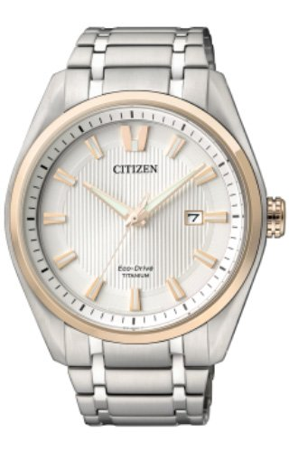 CITIZEN SUPERTITANIO 1240 Orologio unisex ECO-DRIVE - AW1244-56A