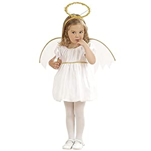 WIDMANN 4933G – Angel Costume for Girls, 1-2 Years (98 EU)
