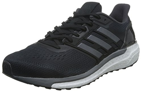 adidas Supernova M, Scarpe Running Uomo, Nero (Core Black/Iron Metallic/Grey), 44 EU