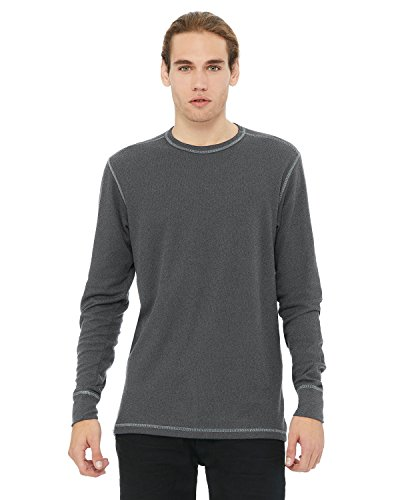 Men's Thermal Long-Sleeve T-Shirt DEEP HTR/ DP HTR 2XL - Htr-fan