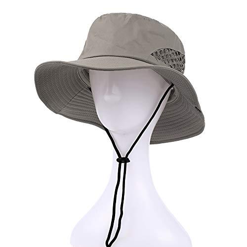b5bb4083b31a6 Sun hat Sombrero de Pescador para Hombres Visera para Exteriores Tapa de  Lavabo Sombrero para el Sol Gorra de Pesca con Protector Solar de Borde ...
