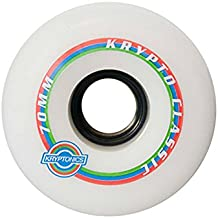 Kryptonics Lboard Classic K Ruedas, Blanco, 70 mm