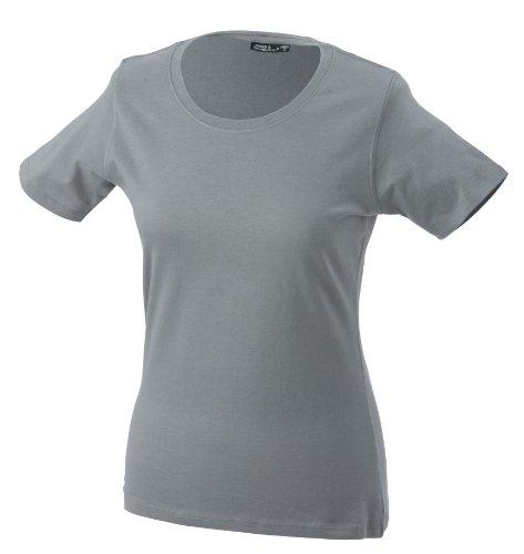 JAMES & NICHOLSON T-shirt Basic - T-shirt de Maternité - Femme Gris (dark-grey)