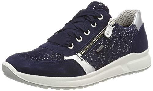 Superfit Mädchen Merida Gore-Tex Sneaker, (Blau 80), 37 (Merida Schuhe)