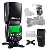 PIXEL E-TTL HSS Wireless Speedlite Flash Come with Stand Diffuser INSEESI Clean Cloth