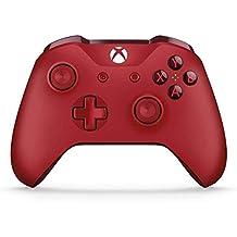 Manette sans fil Xbox One rouge (compatible Pc et Tablette)