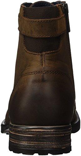 Marc O'Polo Herren Bootie Combat Boots, Braun (Mocca), 44 EU - 2