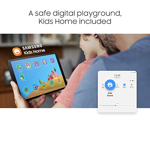 Samsung Galaxy Tab A 10.1-Inch 32 GB Wi-Fi - Silver (UK Version) Img 3 Zoom